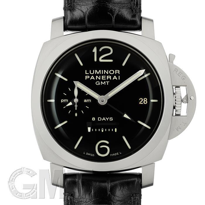 パネライ ルミノール 1950 8DAYS GMT 44mm PAM00233 アリゲーターストラップ OFFICINE PANERAI 【新品】【メンズ】 【腕時計】 【送料無料】 【あす楽_年中無休】