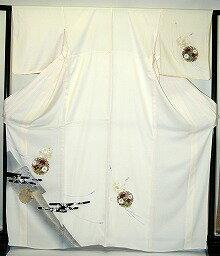 【貸衣裳】 RH 562クリーム地雪輪 レンタル 単衣附下 【貸衣装】 送料無料【訪問着】春のキャンペーン