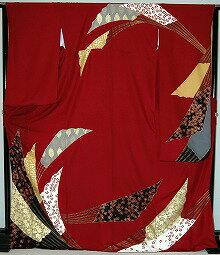 振袖・レンタル【赤・ピンク・赤紫系】【RS767】標準/L寸/7号/9号/11号/13号
