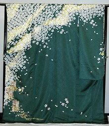 振袖・レンタル【青・青紫・緑系】【RS818】標準/L寸/7号/9号/11号/13号