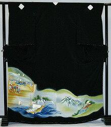 【貸衣裳】 rt37new:時代絵 レンタル 留袖 【貸衣装】春のキャンペーン