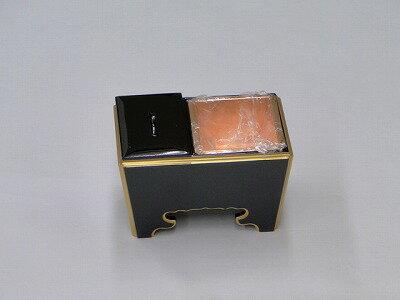 木質(黒面金)角香炉 5寸