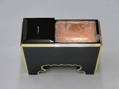 木質(黒面金)角香炉 7寸