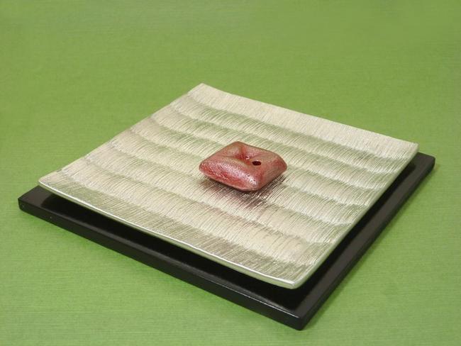 【お香立て】伝統工芸品お香立て TATAMI・OZABU ◆錫製◆ 【お香付き】【京都・関崎製】《送料無料》