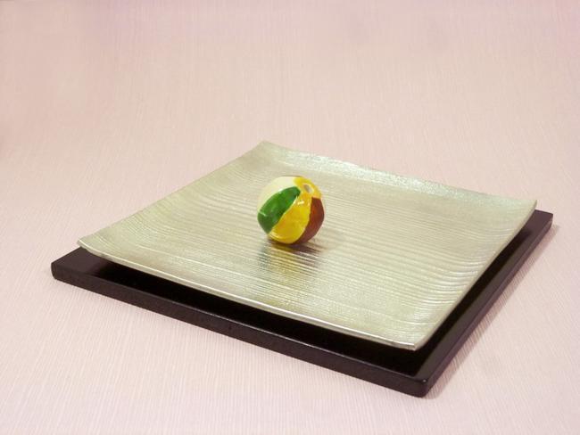 【お香立て】 MOKUME・KAMIFUUSEN ◆錫製◆ 【お香付き】【京都・関崎製】 《送料無料》