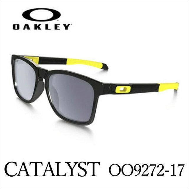 オークリー OAKLEY サングラス CATALYST 【キャタリスト】VR46 Polished Black /Grey oo9272-17
