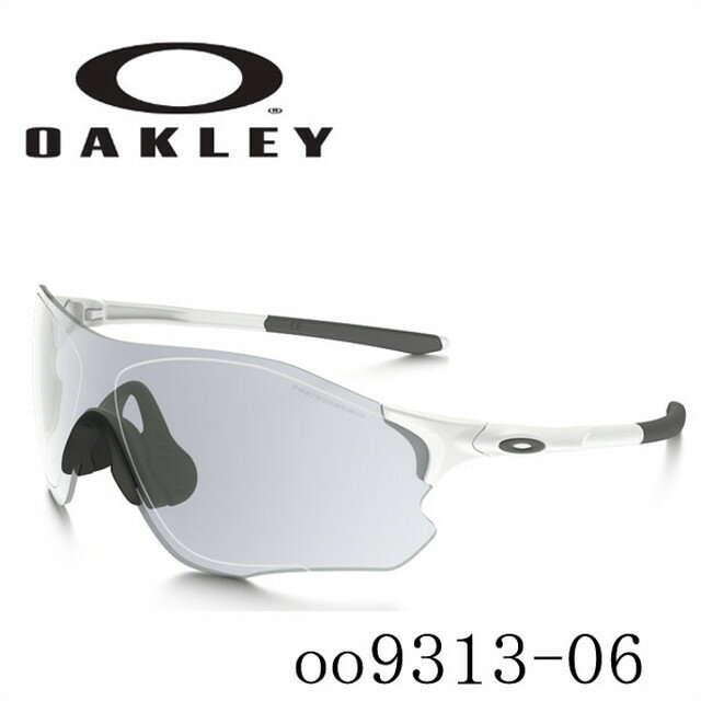 オークリー OAKLEY サングラス EVZERO PATH PHOTOCHROMIC【イーブイゼロ パス フォトクロミック】 matte white/clear black iridium photochromic activated oo9313-06