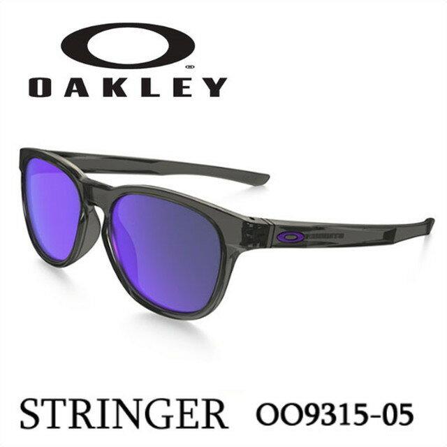 オークリー OAKLEY サングラス STRINGER【ストリンガー】 Grey Smoke/Violet Iridium oo9315-05