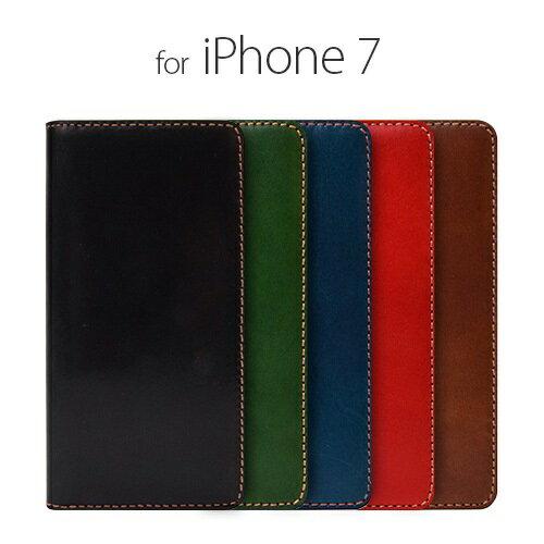 iPhone7 ケース カバー iPhone7手帳型 LAYBLOCK Tuscany Belly ネイビー アイフォン  セブン LB8027i7 スマホ スマートフォン  docomo au softbankアイフォン セブン 本革 ポイント 送料無料 4580492330275
