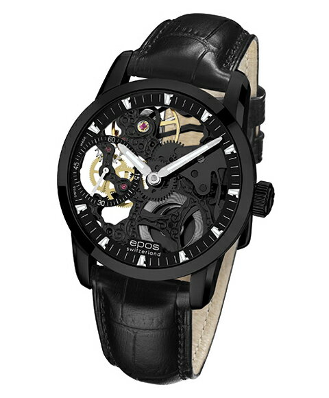 epos エポス ソフィスティック 腕時計 3424BSKBBK手巻
