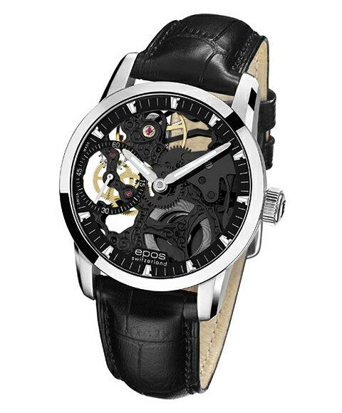 epos エポス ソフィスティック 腕時計 3424BSKBK手巻