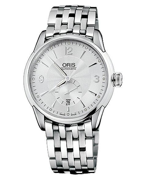 オリス アートリエ スモールセコンド デイト 62375824071M メンズ 腕時計 自動巻き Artelier