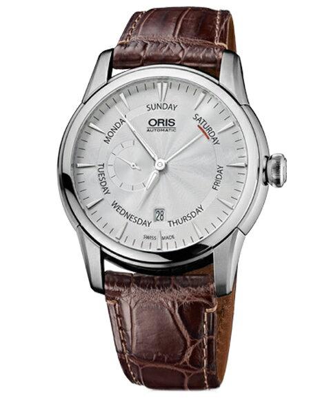 オリス アートリエ スモールセコンドポインターデイ74576664051D メンズ 腕時計 ORIS Artelier