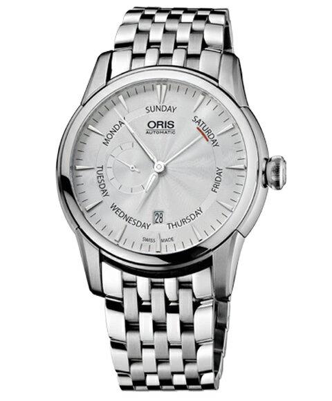オリス アートリエ スモールセコンドポインターデイ74576664051M メンズ 腕時計 ORIS Artelier