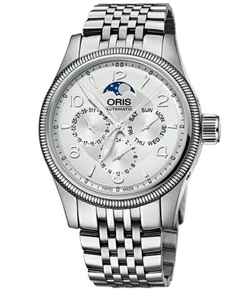 オリス ビッグクラウン コンプリケーション 58276784061M メンズ 腕時計 ORIS Big Crown