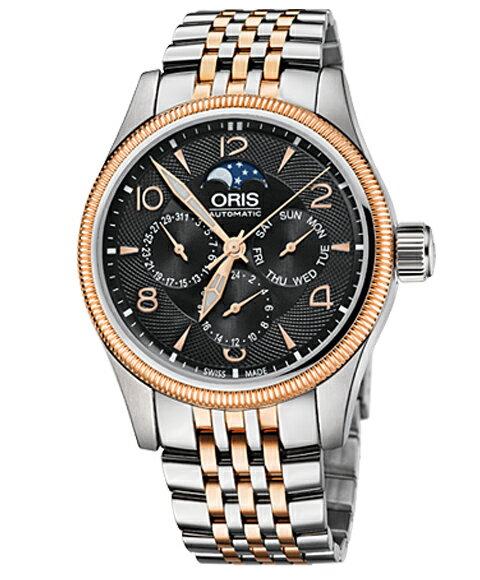 オリス ビッグクラウン コンプリケーション 58276784364M メンズ 腕時計 ORIS Big Crown
