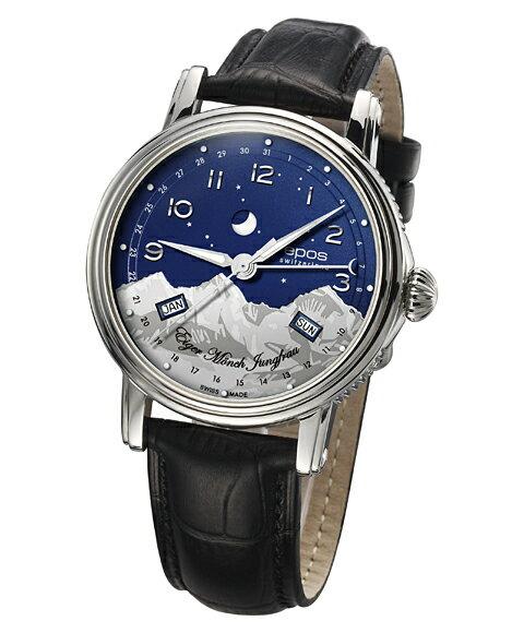 epos エポス ブルーマウンテン 腕時計 3391ABL自動巻