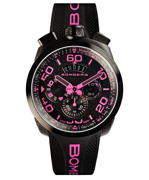 ボンバーグ BOLT-68 ネオン BS45CHPBA.031.3 クォーツ クロノグラフ 腕時計 メンズ BOMBERG NEON