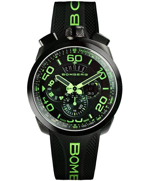 ボンバーグ BOLT-68 ネオン BS45CHPBA.028.3 クォーツ クロノグラフ 腕時計 メンズ BOMBERG NEON