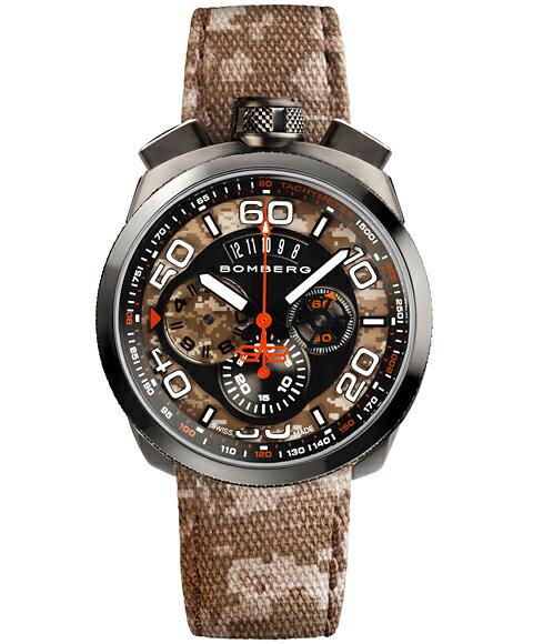 ボンバーグ BOLT-68 カモフラージュ リミテッドエディション BS45CHPGM.018.3 クォーツ クロノグラフ 腕時計 メンズ BOMBERG CAMO LIMITED EDITION