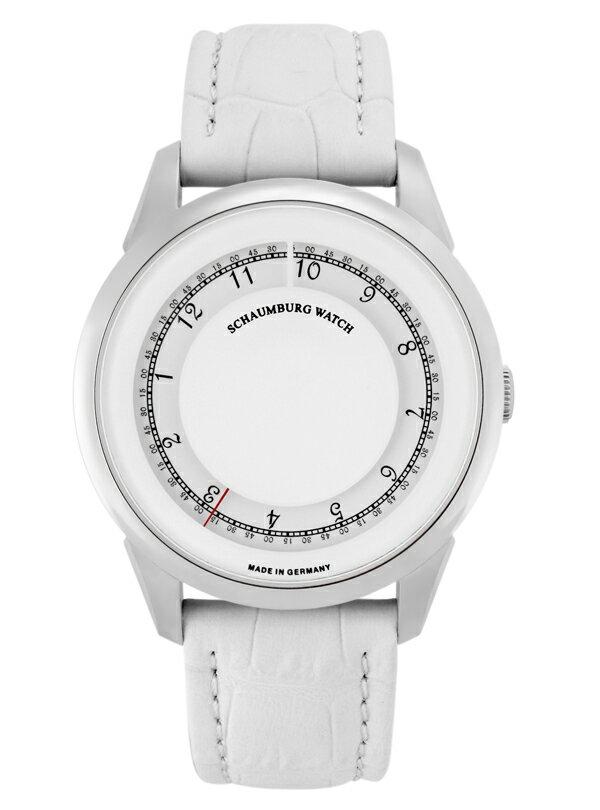 シャウボーグ ディスク ミスティック DISK MYSTIQUE-WH 腕時計 メンズ SCHAUMBURG