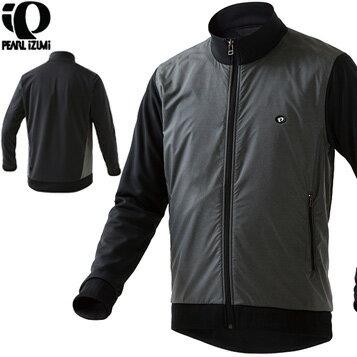 【在庫あり】PEARLIZUMI(パールイズミ)9340 ウィンドジャケット 3.ブラック【送料無料】