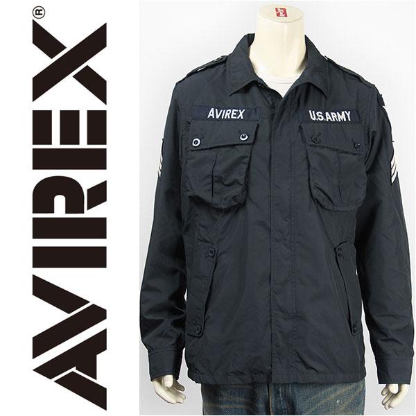 【送料無料】AVIREX アビレックス ポリエステル ジャングル ファティーグジャケット AVIREX POLYESTER JUNGLE FATIGUE JACKET 6162115-87【smtb-tk】