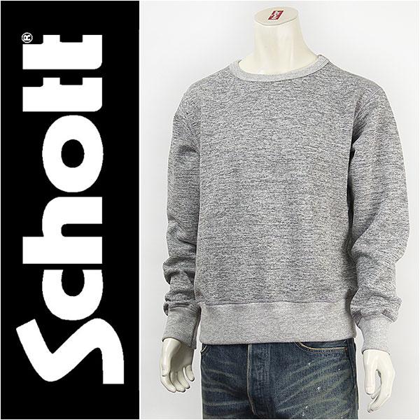 【送料無料・米国製】Schott ショット USA クルーネック スウェット SCHOTT USA CREW NECK SWEAT MADE IN USA 3123082-14【smtb-tk】【ショット スウェット トレーナー】