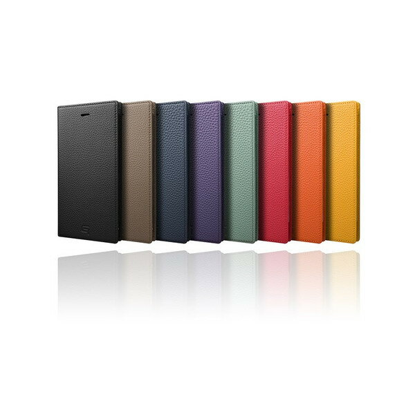【送料無料】GRAMAS グラマス iPhone 8 Plus/7 Plus 手帳型ケース Shrunken-calf Full Leather Case