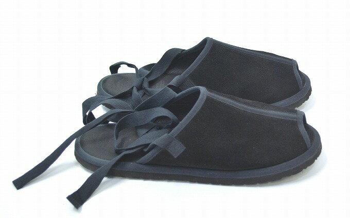 【中古】foot the coacher (フットザコーチャー)AIR FORCE SANDALS エアフォースサンダル BLACK 27.0  05P29Aug16