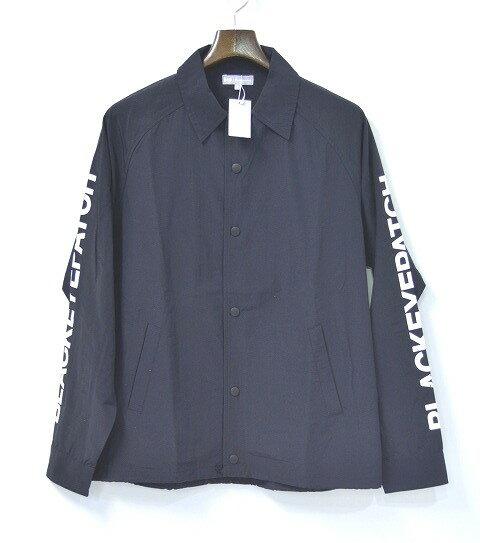 【新品】 THE BLACK EYE PATCH  (ザ ブラック アイ パッチ)  COACHES JACKET BLACK コーチジャケット XL