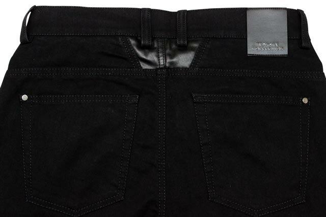 VERSACE COLLECTION 6-POCKET STRETCH DENIM PANTS (V600148/VE7242: Black)ヴェルサーコレクション/ブラックデニムパンツ/黒【ポイント10倍!】【ポイント10倍!】