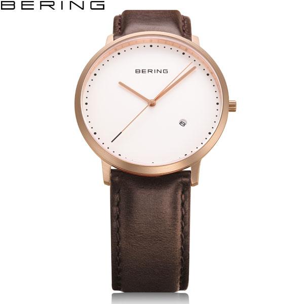 ベーリング[BERING]クラシック[Classic]11139-564北欧デザインカーフレザー【腕時計 時計】【ギフト プレゼント】