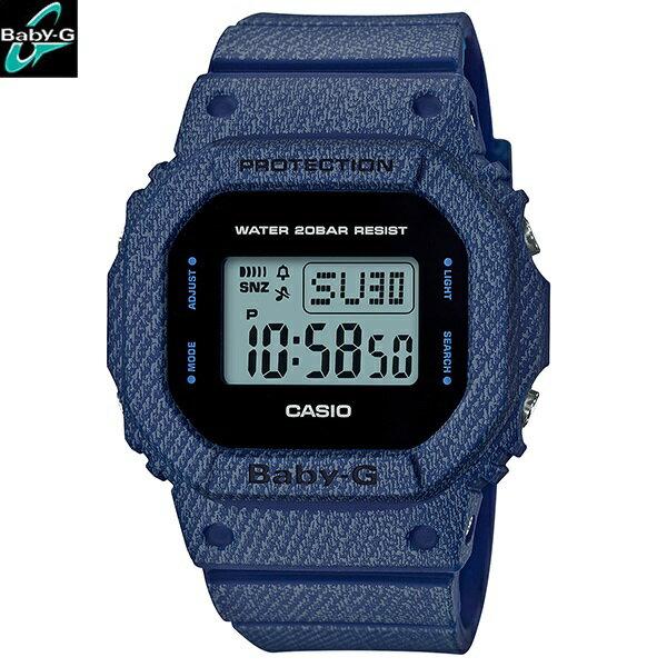 カシオ[CASIO] ベビージー[BABY-G] DENIM'D COLOR[デニムドカラー] BGD-560DE-2JF/レディース/ラバーバンド【腕時計 時計】