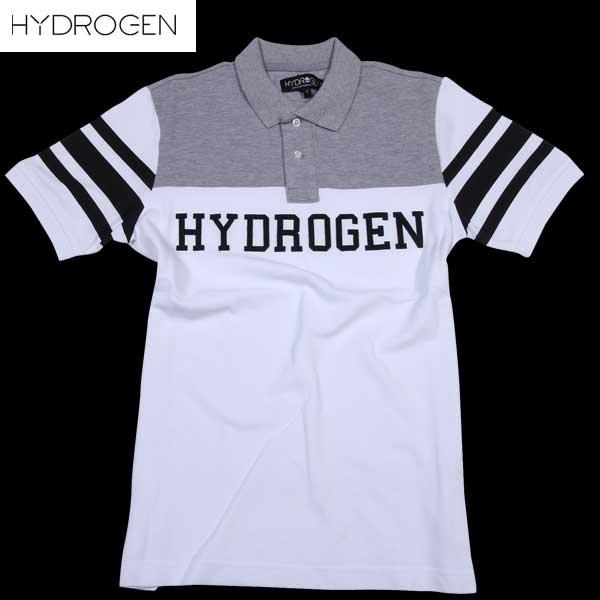 【送料無料】 ハイドロゲン(HYDROGEN) メンズ 半袖ポロシャツ 160609  317  【楽ギフ_包装】【smtb-TK】  DB15S