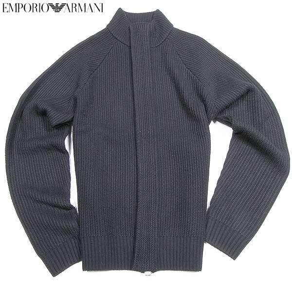 【送料無料】 エンポリオアルマーニ(EMPORIO-ARMANI) メンズ ウール セーター BNW34 EG 12  【楽ギフ_包装】【smtb-TK】  15A