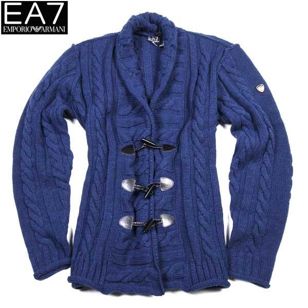 【送料無料】 エンポリオアルマーニ(EMPORIO-ARMANI) EA7 メンズ ウール セーター SLE03M SL03M 00535  【楽ギフ_包装】【SALE1512】  15A