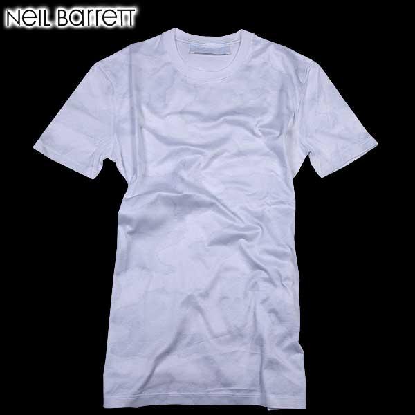 【送料無料】 ニールバレット (NeilBarrett)メンズ クルーネック 半袖Tシャツ マルチプリント PBJT61 A519S 1458  【楽ギフ_包装】【SALE1602】  61S