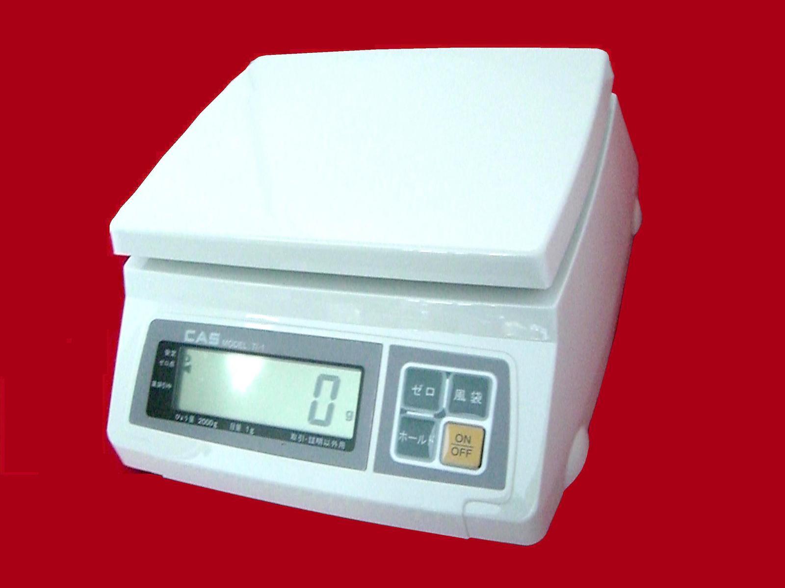 ■CASデジタル秤 2・5・10・20kg 秤(はかり) 1/2000高分解能