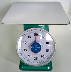 ■CAMRY 上皿自動秤 50kg 平皿 はかり スケール