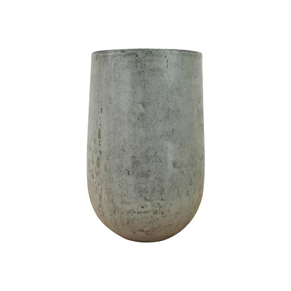 (送料無料) 植木鉢 おしゃれ きめ細やかな質感のセメントポット MM051-550 18号(55cm) / 陶器鉢 スタイリッシュ 大型 コンクリート