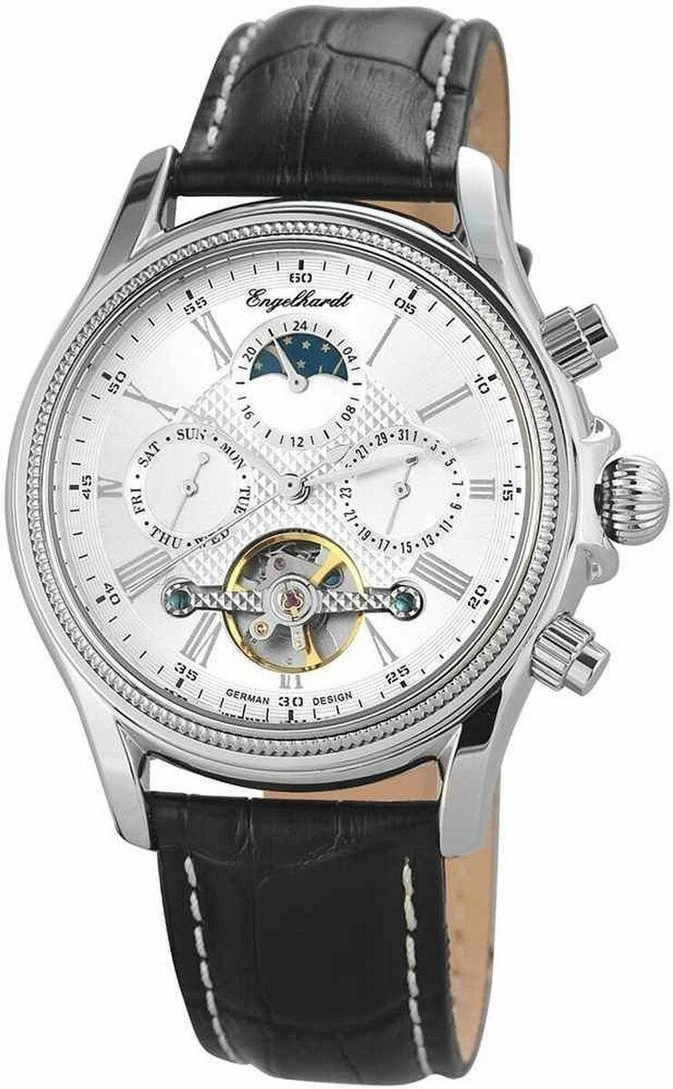 Engelhardt エンゲルハート 自動巻き 腕時計 メンズ ドイツ製 [388222529008] 並行輸入品 メーカー保証24ヵ月 純正ケース付き