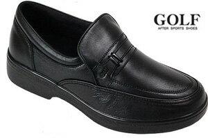GOLF ゴルフ  GOLF 1604 ブラック 黒 4E 靴