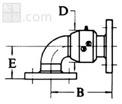 昭和技研工業:パールスイベルジョイント C型 スタイルNo.2 型式:パールC-2-65A