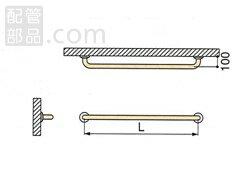 ミヤコ:被覆握りバー <MB150HS> 型式:MB150HS-ココアブラウン-900