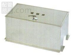 アウス:ステンレス製電磁弁ボックス(土間埋設型) 型式:SB50-1