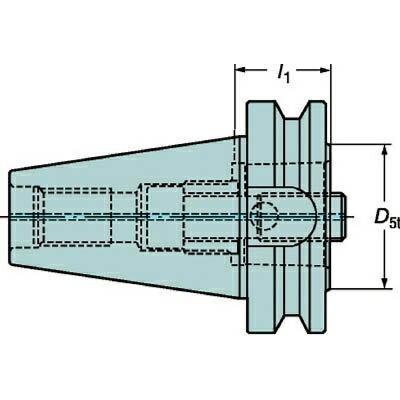 サンドビック:サンドビック コロマントキャプト ベーシックホルダ C6-390.58-50 090 型式:C6-390.58-50 090