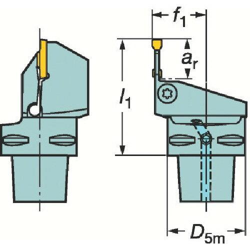サンドビック:サンドビック コロマントキャプト コロカット1・2用カッティングユニット C6-LF123G10-45065B 型式:C6-LF123G10-45065B