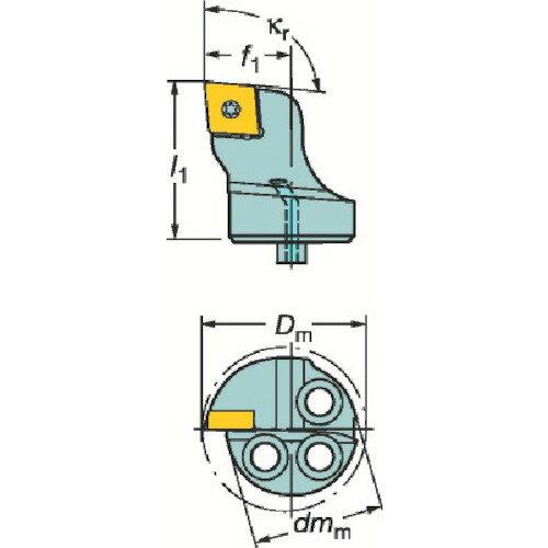 サンドビック:サンドビック コロターンSL コロターン107用カッティングヘッド 570-SCLCL-40-12 型式:570-SCLCL-40-12