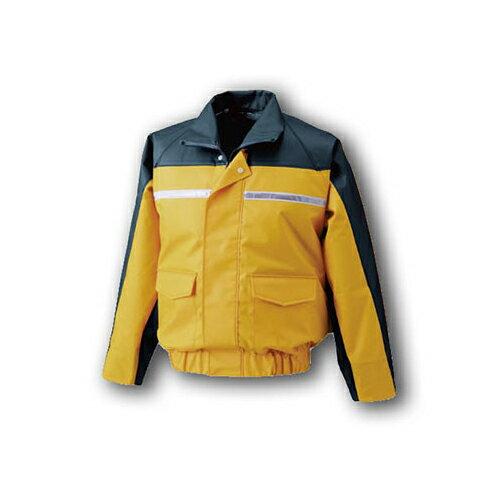空調服:ナダレス空調服ブルゾン(ウェア・ファン2個・ケーブル・バッテリーセット) 型式:BR-500N イエローM